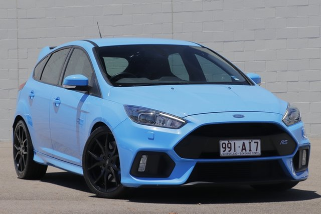 Used Ford Focus LZ RS AWD Windsor, 2016 Ford Focus LZ RS AWD Blue 6 Speed Manual Hatchback