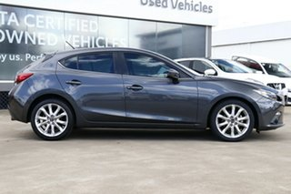 2016 Mazda 3 BM MY15 SP25 Grey 6 Speed Automatic Hatchback