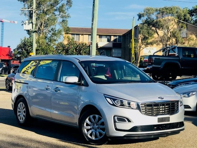 Used Kia Carnival YP MY18 S Liverpool, 2018 Kia Carnival YP MY18 S Silver 6 Speed Sports Automatic Wagon