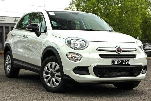 Used Fiat 500X 334 Pop DDCT Nunawading, 2018 Fiat 500X 334 Pop DDCT White 6 Speed Sports Automatic Dual Clutch Wagon