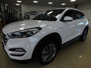 2017 Hyundai Tucson TL MY17 Active X 2WD White 6 Speed Sports Automatic Wagon.