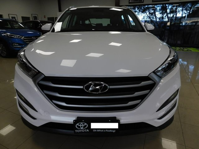 Used Hyundai Tucson TL MY17 Active X 2WD Wonthaggi, 2017 Hyundai Tucson TL MY17 Active X 2WD White 6 Speed Sports Automatic Wagon