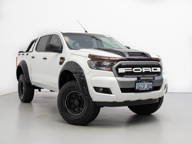 Used Ford Ranger PX MkII MY17 XLS 3.2 (4x4), 2016 Ford Ranger PX MkII MY17 XLS 3.2 (4x4) White 6 Speed Automatic Double Cab Pick Up