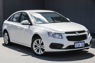 2014 Holden Cruze JH Series II MY14 Equipe White 6 Speed Sports Automatic Sedan.