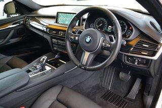 2016 BMW X6 F16 xDrive30d Coupe Steptronic White 8 Speed Sports Automatic Wagon.