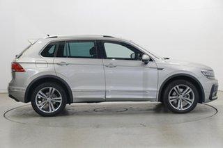 2019 Volkswagen Tiguan 5N MY19.5 132TSI DSG 4MOTION R-Line Edition Tungsten Silver 7 Speed