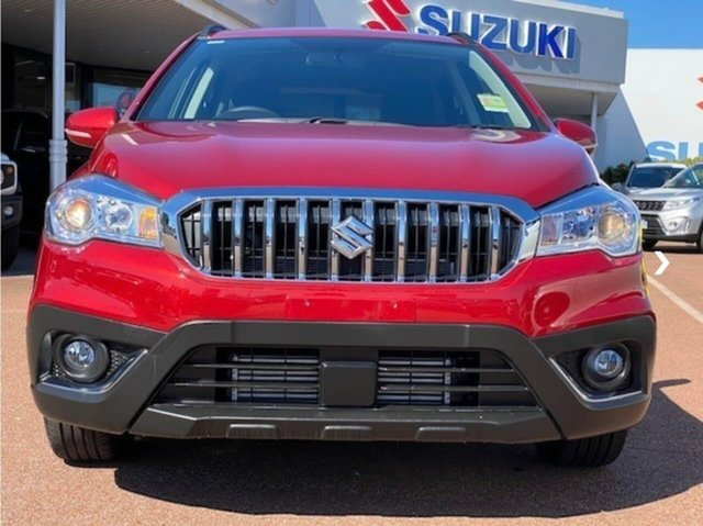Demo Suzuki S-Cross JY Turbo Melville, 2020 Suzuki S-Cross JY Turbo Red 6 Speed Sports Automatic Hatchback