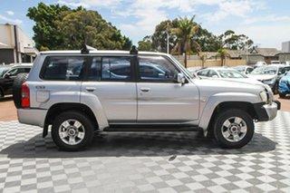 2005 Nissan Patrol GU IV MY05 ST Silver 4 Speed Automatic Wagon.