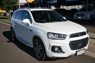 2016 Holden Captiva CG MY17 7 LTZ (AWD) White 6 Speed Automatic Wagon.