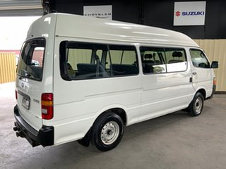2003 Toyota HiAce RZH125R Commuter Super LWB White 4 Speed Automatic Bus.