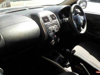 2013 Nissan Almera N17 ST Silver 5 Speed Manual Sedan