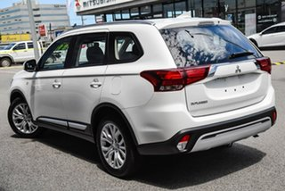 2020 Mitsubishi Outlander ZL MY20 ES AWD White 6 Speed Constant Variable Wagon.