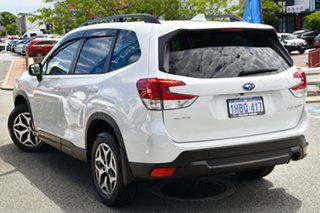 2020 Subaru Forester S5 MY21 2.5i CVT AWD Crystal White 7 Speed Constant Variable Wagon.