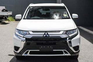 2020 Mitsubishi Outlander ZL MY20 ES AWD White 6 Speed Constant Variable Wagon