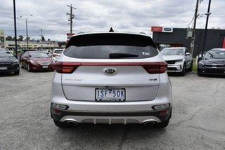 2018 Kia Sportage QL MY19 GT-Line AWD Silver 6 Speed Sports Automatic Wagon