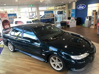 1997 Ford Falcon EL GT Heritage Green 5 Speed Manual Sedan