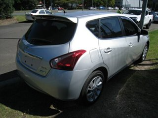 2013 Nissan Pulsar C12 ST-L Silver Continuous Variable Hatchback