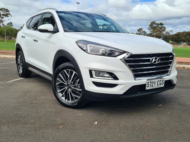 Used Hyundai Tucson TL3 MY20 Elite AWD Nailsworth, 2020 Hyundai Tucson TL3 MY20 Elite AWD White 8 Speed Sports Automatic Wagon