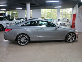 2013 Mercedes-Benz E-Class C207 MY13 E250 CDI 7G-Tronic + Silver 7 Speed Sports Automatic Coupe