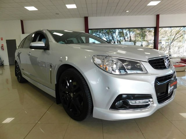 Used Holden Commodore VF MY15 SS V Sportwagon Redline Wonthaggi, 2015 Holden Commodore VF MY15 SS V Sportwagon Redline Silver 6 Speed Sports Automatic Wagon