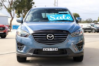 2015 Mazda CX-5 KE1022 Grand Touring SKYACTIV-Drive AWD Blue 6 Speed Sports Automatic Wagon