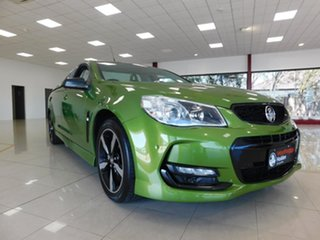 2016 Holden Ute VF II MY16 SV6 Ute Green 6 Speed Sports Automatic Utility.