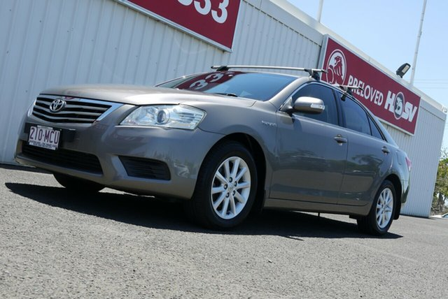 Used Toyota Aurion GSV40R MY10 AT-X Bundaberg, 2010 Toyota Aurion GSV40R MY10 AT-X Grey 6 Speed Sports Automatic Sedan