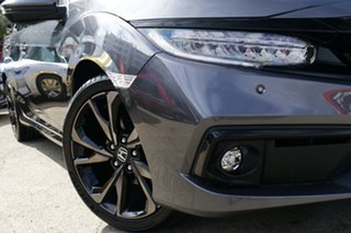 2019 Honda Civic 10th Gen MY19 RS Modern Steel 1 Speed Constant Variable Sedan.
