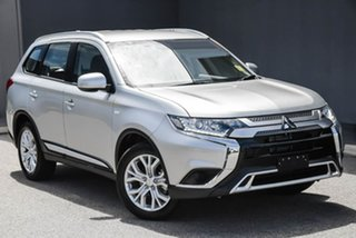 2020 Mitsubishi Outlander ZL MY20 ES AWD Silver 6 Speed Constant Variable Wagon.
