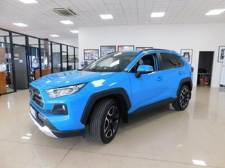 2019 Toyota RAV4 Axaa54R Edge AWD Blue 8 Speed Sports Automatic Wagon