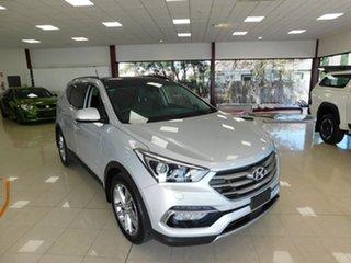 2016 Hyundai Santa Fe DM3 MY16 Highlander Silver 6 Speed Sports Automatic Wagon.