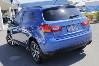 2014 Mitsubishi ASX XB MY15 LS 2WD Lightning Blue 5 Speed Manual Wagon.