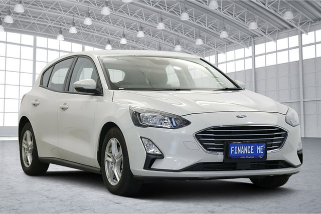 Used Ford Focus SA 2019.25MY Trend Victoria Park, 2019 Ford Focus SA 2019.25MY Trend Metropolis White 8 Speed Automatic Hatchback