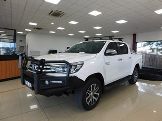 2015 Toyota Hilux GUN126R SR5 White Sports Automatic