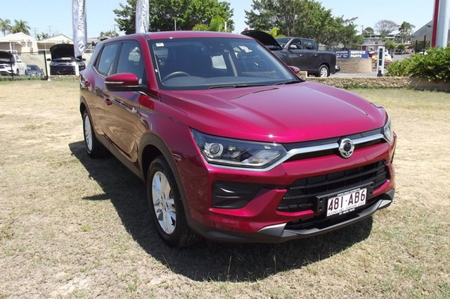 Demo Ssangyong Korando C300 MY20 EX 2WD South Gladstone, 2019 Ssangyong Korando C300 MY20 EX 2WD Red 6 Speed Sports Automatic Wagon