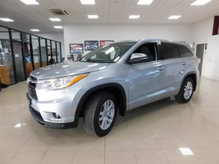 2016 Toyota Kluger GSU50R GX 2WD Silver 8 Speed Sports Automatic Wagon