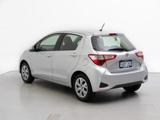 2017 Toyota Yaris NCP130R MY17 Ascent Silver 4 Speed Automatic Hatchback