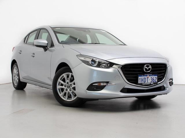 Used Mazda 3 BN MY18 Maxx Sport, 2018 Mazda 3 BN MY18 Maxx Sport Silver 6 Speed Automatic Sedan