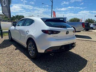 2020 Mazda 3 G20 Pure White 6 Speed Automatic Hatchback