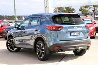 2015 Mazda CX-5 KE1022 Grand Touring SKYACTIV-Drive AWD Blue 6 Speed Sports Automatic Wagon.