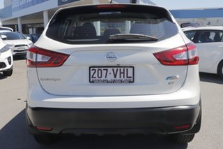 2014 Nissan Qashqai J11 ST Ivory Pearl 1 Speed Constant Variable Wagon
