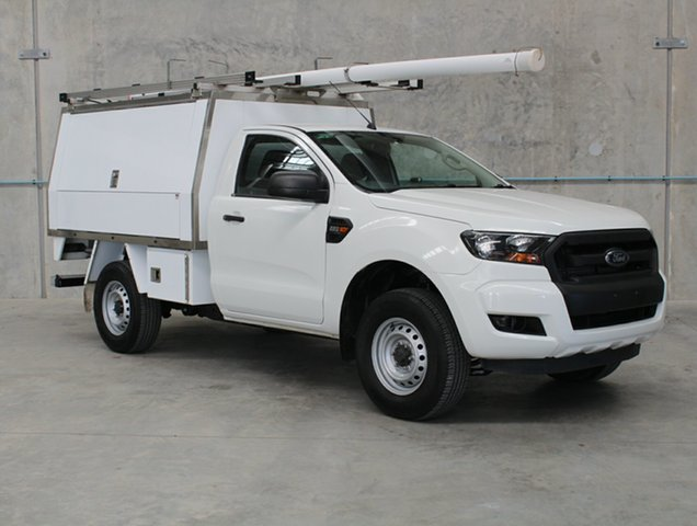 Used Ford Ranger PX MkII XL Hi-Rider Caloundra, 2016 Ford Ranger PX MkII XL Hi-Rider White 6 speed Automatic Cab Chassis