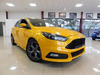 2016 Ford Focus LZ ST Orange 6 Speed Manual Hatchback.