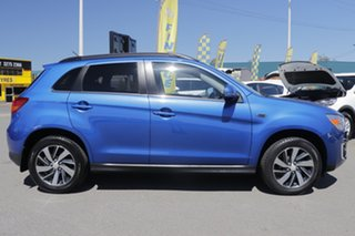 2014 Mitsubishi ASX XB MY15 LS 2WD Lightning Blue 5 Speed Manual Wagon