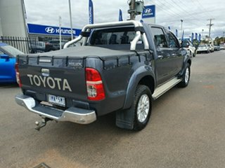 2013 Toyota Hilux KUN26R MY14 SR5 Double Cab Grey 5 Speed Automatic Utility.
