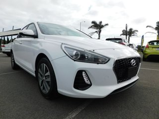 2017 Hyundai i30 GD4 Series II MY17 Active DCT White 7 Speed Sports Automatic Dual Clutch Hatchback.