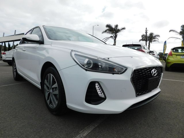 Used Hyundai i30 GD4 Series II MY17 Active DCT Wonthaggi, 2017 Hyundai i30 GD4 Series II MY17 Active DCT White 7 Speed Sports Automatic Dual Clutch Hatchback