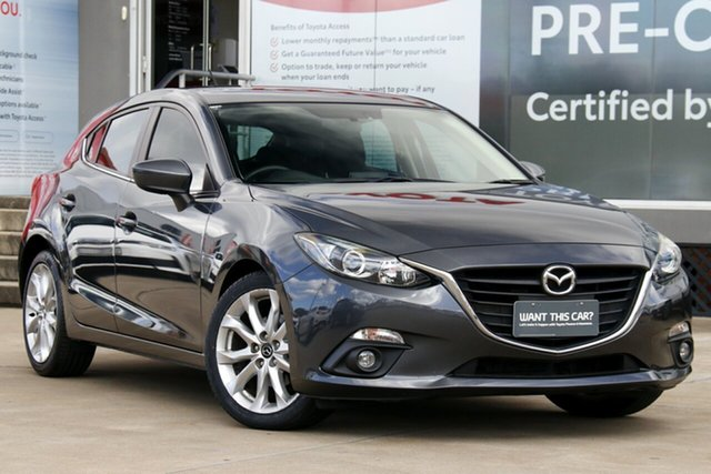 Used Mazda 3 BN MY17 SP25 Astina Guildford, 2016 Mazda 3 BN MY17 SP25 Astina Grey 6 Speed Automatic Hatchback