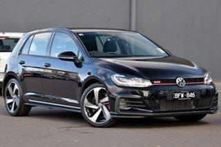 2019 Volkswagen Golf 7.5 MY20 GTI DSG Black 7 Speed Sports Automatic Dual Clutch Hatchback.