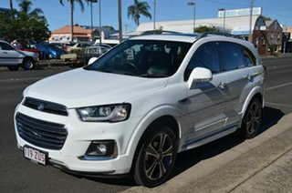2016 Holden Captiva CG MY17 7 LTZ (AWD) White 6 Speed Automatic Wagon